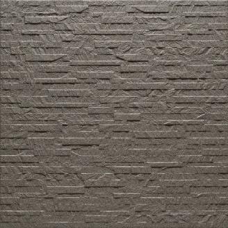 Керамограніт АТЕМ ANIT 0001 рельєфний 600х600х9,5 мм світло-сірий