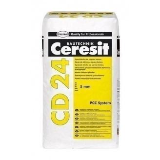 Полимерцементная шпаклевка Ceresit CD 24 25 кг для восстановления бетона до 5мм