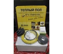 Электрический теплый пол IN-TERM тонкий с терморегулятором и датчиком 2,7 м2
