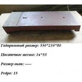 Колосник глухой 550x230 мм