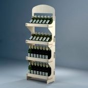 Стеллаж Марко для вина 1780 мм