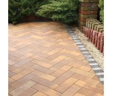 Тротуарная плитка Золотой Мандарин Паркет 450х150х60 мм марселла