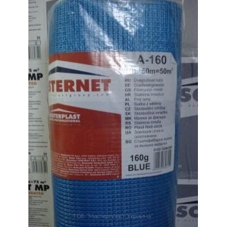 Сетка штукатурная Masterplast Masternet A-160 1x50 м синяя