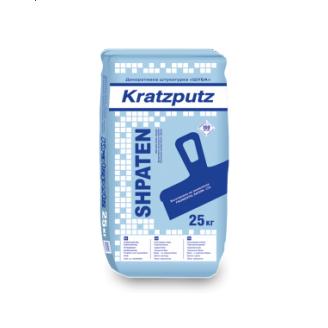 Штукатурка декоративная Ферозит SHPATEN Kratzputz шуба 25 кг белая