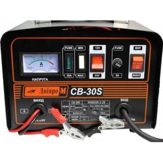 Зарядное устройство для аккумулятора авто Дніпро-М СB-30S