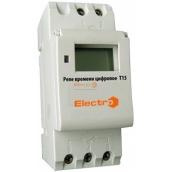 Реле часу ElectrO Т15 цифрове 16 230 В с акумулятором на DIN-рейку