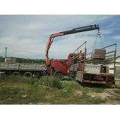 Оренда гідроманіпулятора до 6 т для перевезення вантажів різного типу