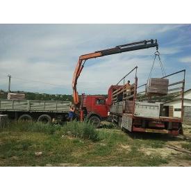 Аренда гидроманипулятора до 6 т для перевозки грузов разного типа