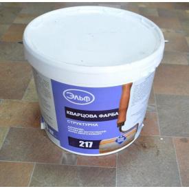 Краска структурная кварцевая ЭЛЬФ СП-217 25 кг