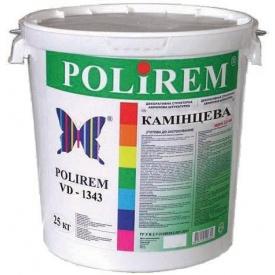 Штукатурка декоративная Polirem VD-1343 камешковая 1,5 мм 25 кг
