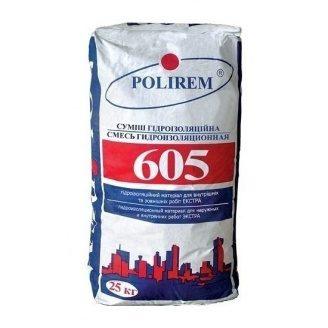 Гидроизоляционная смесь POLIREM 605 Экстра 6 bar 25 кг