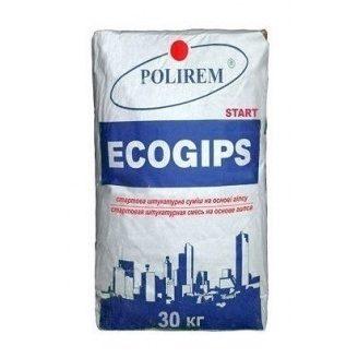 Штукатурка POLIREM Ecogips 30 кг белый