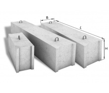 Фундаментный блок ФБС 9.4.6Т В15 880х400х580 мм