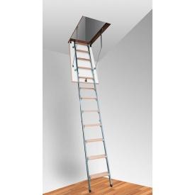 Горищні сходи Altavilla TermoMet 4s 80х70 см
