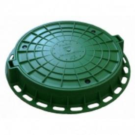 Люк садовий 2 т 10 кг зелений