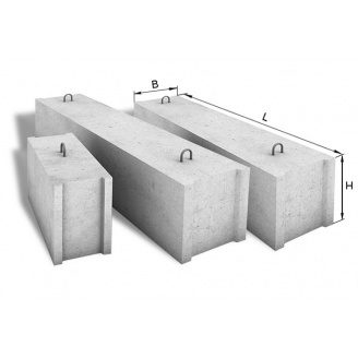 Фундаментный блок ФБС 24.4.6 2400х400х580 мм