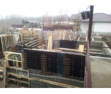 Строительство частного дома с монолитным железобетонным перекрытием
