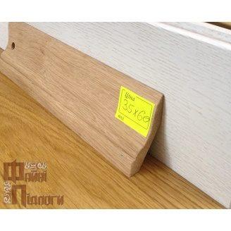 Плинтус классический Файні Підлоги дуб 28х60 мм