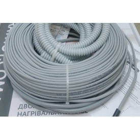 Теплый пол GrayHot тонкий двухжильный кабель 59 м 6 м2