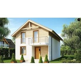 Строительство дома по проекту Дионис Комфорт 10х6,7 м