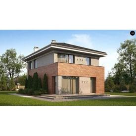 Строительство дома по проекту Клио Стандарт 10,3х7,4 м