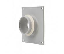 Фланец вентиляционной решетки VILPE 60 мм светло-серый