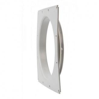 Фланец вентиляционной решетки VILPE 250 мм светло-серый