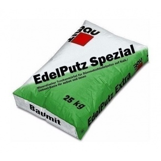 Штукатурка Baumit Edelputz Spezial 1,5К барашек 25 кг white