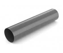 Водостічна труба Bryza 100 90 мм 3 м графіт