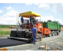 Асфальтирование дорог с подготовкой основания