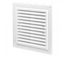 Вентиляционная прямоугольная решетка Домовент ДВ 215х175пластик 11х215х175 мм белая