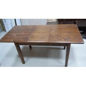 Стол обеденный раздвижной из натурального дерева 1200x750 мм