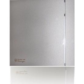 Вентилятор осьовий Soler&Palau Silent 100 cz Design Silver 188х188 мм сріблястий