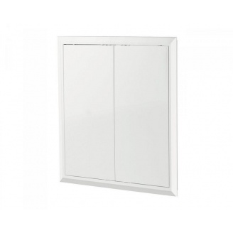 Ревизионные дверцы Домовент Д2400/400 ABS пластик 416х388 мм