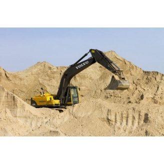 Горный песок навалом