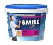 Краска-грунт SMILE SD-51 структурная 7 кг