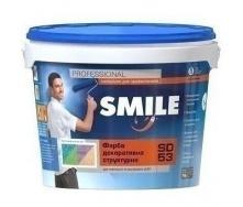 Краска структурная SMILE SD-53 модифицированная 8 кг
