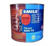 Лазурь SMILE SWL-15 WOOD PROTECT 2,3 л сосна
