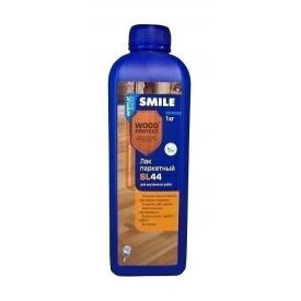 Лак паркетний SMILE SL-44 глянцевий акрило-поліуретановий 0,7 кг