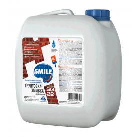 Грунтовка-смывка SMILE SG-22 для удаления высолов водно-дисперсионная 1 кг