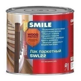 Лак паркетный SMILE SWL-22 полуматовый 19 л