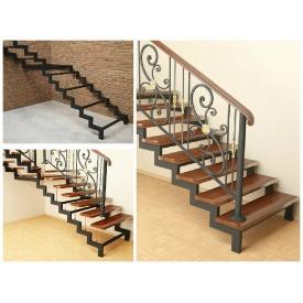 Металевий каркас для сходів