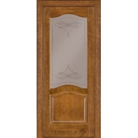 Межкомнатная дверь TERMINUS Classic Модель 03 под стекло дуб
