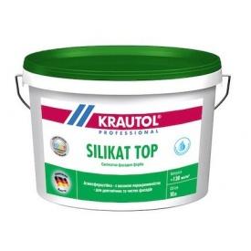 Фарба силікатна фасадна Krautol SILIKAT TOP В1 10 л