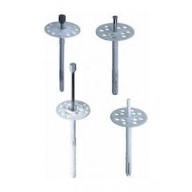 Дюбель-зонт фасадний Wkret-met 140 мм з металевим цвяхом і термоголовкою
