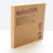 Поліуретановий еластомер Sylomer SR 110 для віброізоляції 5000х1500х25 мм коричневий