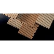 Декоративная акустическая панель Topakustik MDF 4086х128х16 мм искусственный шпон