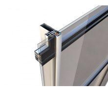 Комплексная система для фасадных остеклений Alumil M6 55х55 мм