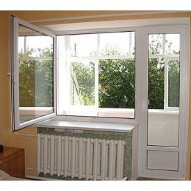 Балконная дверь профиль дверной шестикамерный WDS 700x2150 мм