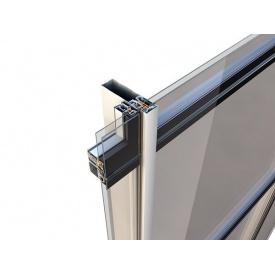 Комплексна система для фасадних засклень Alumil M6 55х55 мм